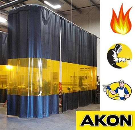 akon curtains industrial welding curtains akon curtain and dividers