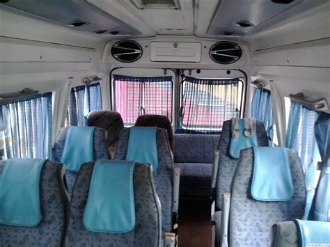 Tempo Interiors by Hire Tempo Traveller In Delhi India Gurgaon Noida Best