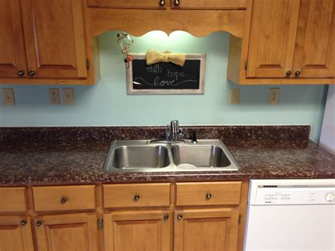 Painted Kitchen Countertops Painted Laminate Countertops Ramblings Of This Southern