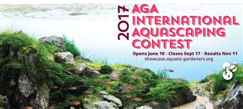 aga aquascaping contest support the aga aquascaping contest