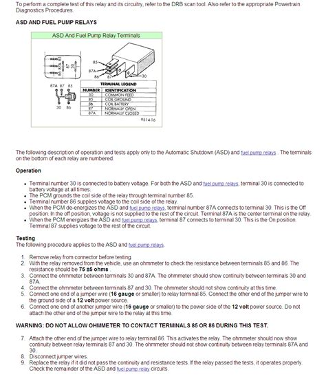 Old Fashioned Testing A 87a Relay Wiring Diagram Sketch - Electrical ...