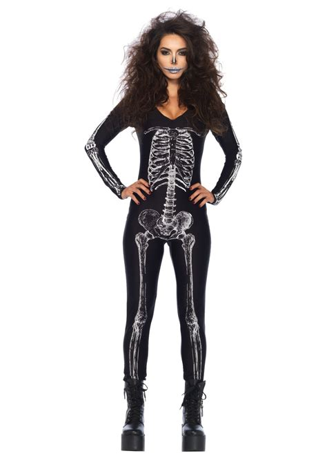 skeleton unitard  scary costumes