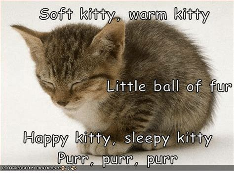 Soft Kitty Meme - 25 best memes about sleepy kitty sleepy kitty memes