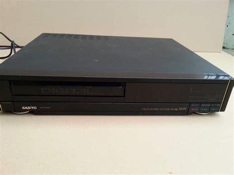 videoregistratore cassette videoregistratore per cassette sanyo a scandiano