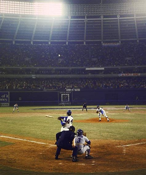 hank aaron 715 home run record 1974 atlanta braves 8 x