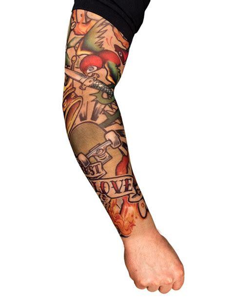 tattoo arm karneval tattoo 196 rmel skater bunt rmel tattoos tattoo stulpe tattoo