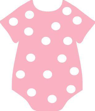 Od Kid Ribbon 2 Polka Pink pink polka dot onesie baby paper crafts