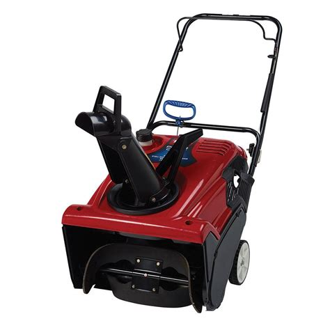 toro power clear     cc single stage gas snow blower   home depot