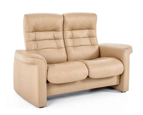 low back reclining sofa stressless by ekornes stressless sapphire 1267024 1266007