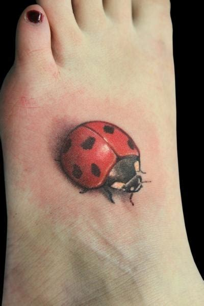 ladybug tattoo designs foot 14 ladybug tattoos designs