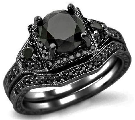 black engagement ring 171 horrific finds