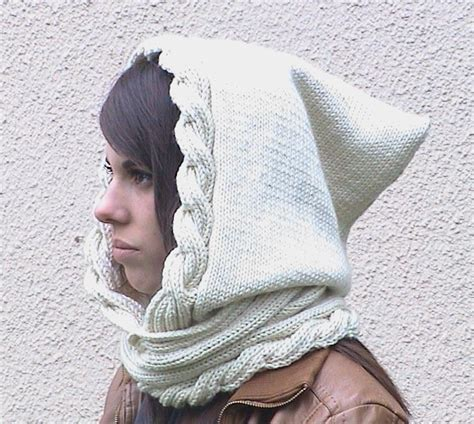 how to knit a hooded scarf find the hooded scarf knitting pattern