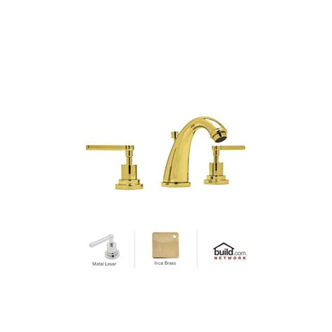 Rohl Faucet Reviews by Rohl A1208lmib 2 Inca Brass Avanti Handle