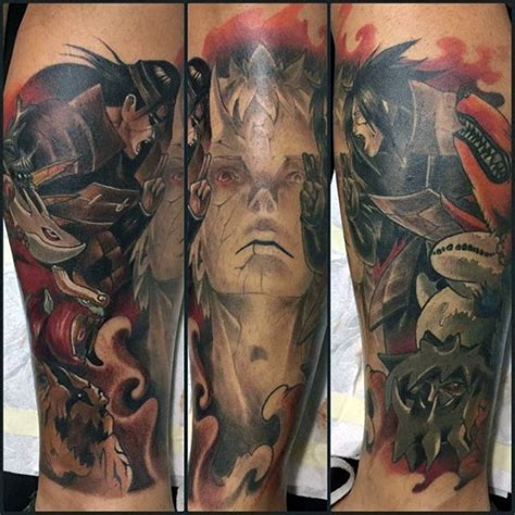 60 naruto tattoo designs for men manga ink ideas