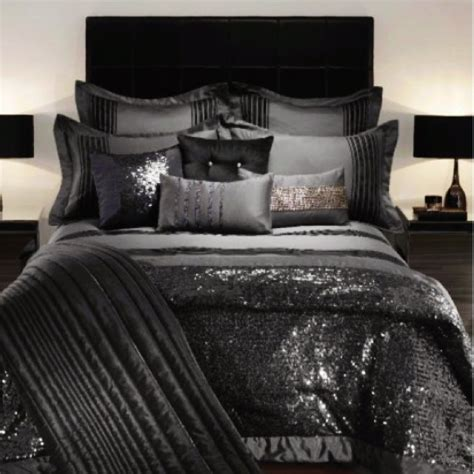 Duvet And Comforter Kylie Minogue Bedding Throw In Black Cara Gaffney