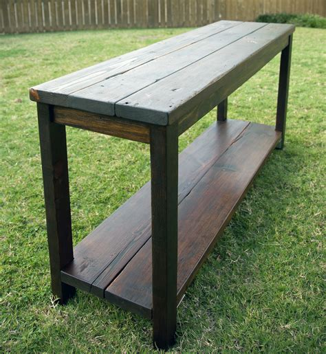 40 Stunning Reclaimed Wood Console Tables Used Sofa Tables