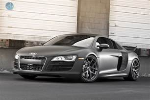 matte black audi r8 v10 speeddistrict
