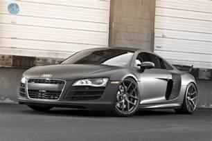 Audi R8 Matte Matte Black Audi R8 V10 Speeddistrict