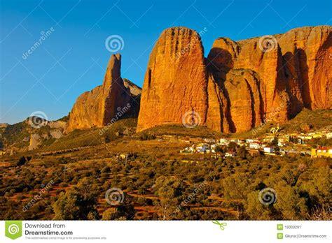 rocks in spanish rocks stock image image 19300291