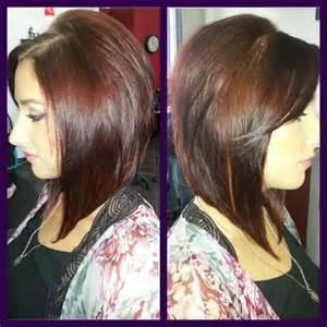 cutes aline hair a line bob haircut my passion my work