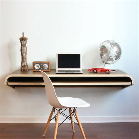 minimal desk minimal wall desk walnut froy