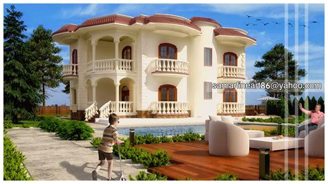 Small Open Concept House Plans Small Villa Design Small Thai Villa Design Small Villas