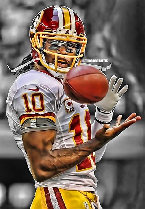 rg3 for the washington redskins favorite football team