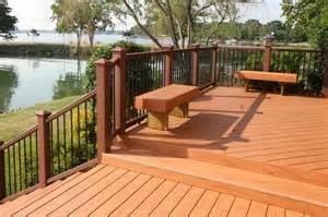 wood deck designs decosee
