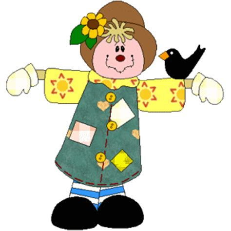 Scarecrow Paper Craft - scarecrow paper craft