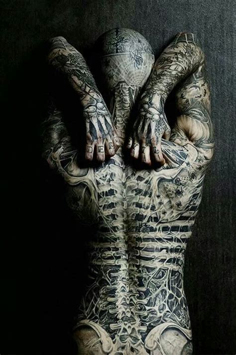 tattoo full body art beautiful full body skeleton tattoo awesome tattoos