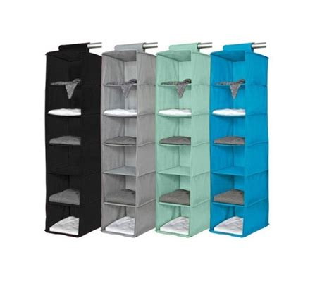 cool color options 6 shelf organizer vibrant holds a