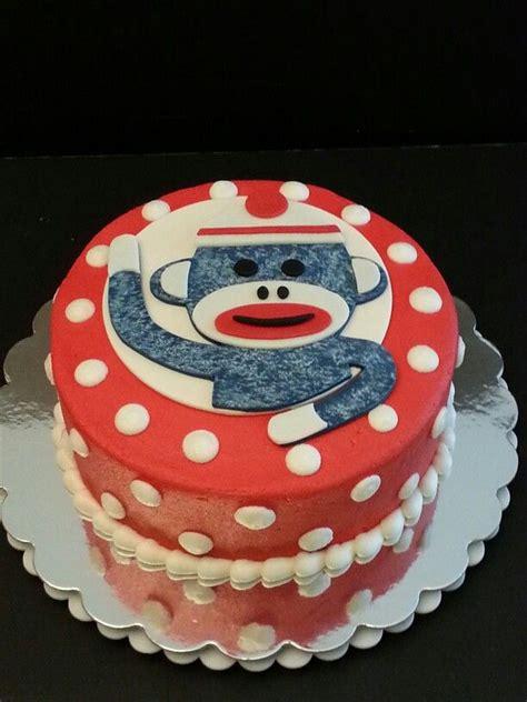 a sock monkey cake sock monkey cake my cakes
