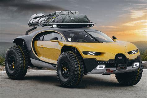 lifted bugatti bugatti chiron road edition gets lifted still has