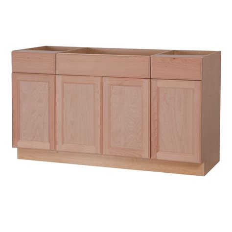 unfinished base kitchen cabinets lowes kitchen cabinets unfinished shop project source 36 in w x 12 in h x 12 in d unfinished