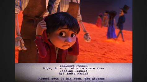 coco extra scene coco featurette from script to screen miguel enters the