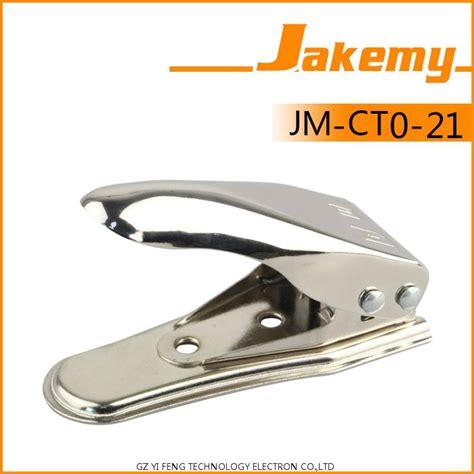 Jm1108 Jakemy Micro Sim Nano Sim Cutter 2 In 1 Silver jakemy 2 in 1 universal micro and nano sim card cutter