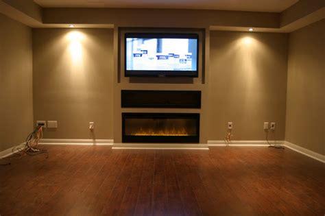 Fireplace Oakville by Basement Blossom Wilde Interiors