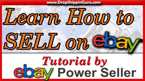 How To Sell On Ebay V The Rest by How To Sell On Ebay Beginners Tutorial Tips And Tricks