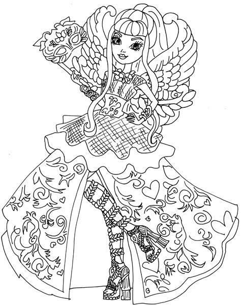 coloring pages star darlings ever after high para colorir pesquisa google colouring