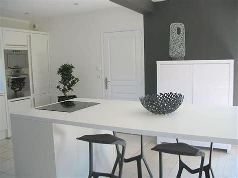meuble blanc cuisine cuisine blanche design 5 photos nlm23