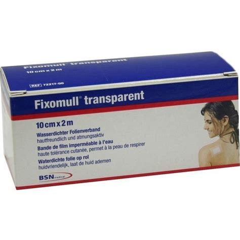 Fixomull Transparent fixomull transparent 2mx10cm wasserdichter folienverband 1