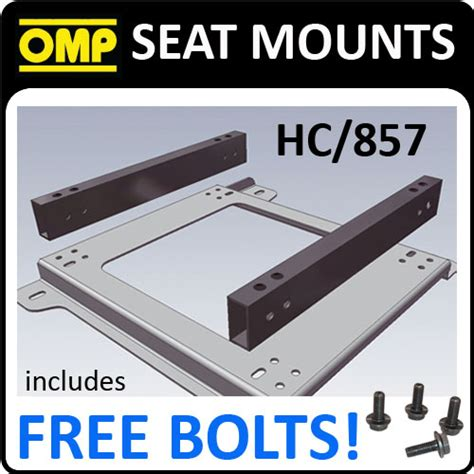 hc 858 omp seat mount bracket spacer multi adjustable increases seat height universal fixing