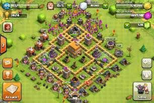Best hybrid base setup for th6 coc for more clash of clans coc