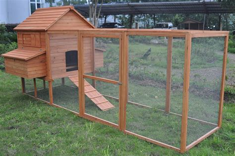 Hen Hutch chicken coop 3 65m for up to 12 chickens rabbit hutch hen chook house ebay