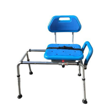 sliding transfer bench with swivel seat gateway premium sliding bath shower transfer bench padded