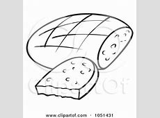 Royalty Free Food Illustrations by dero Page 2 Hot Dog Clipart Black And White