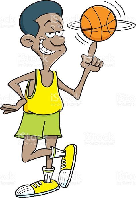 desenho cartoon basketball player clipart 101 clip