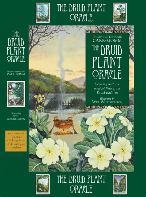 the druid plant oracle 1859064191 the druid plant oracle back in print philip carr gomm