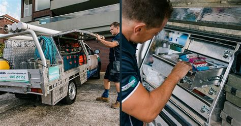Plumbing On Rigs by Northern Beaches Plumber With Plumbing Truck Plumbing