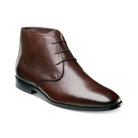 brown chukka boots florsheim jet chukka boots in brown for lyst